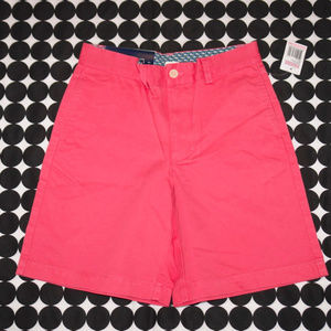 NWT Boys Vineyard Vines Club Short Sailors Red 10